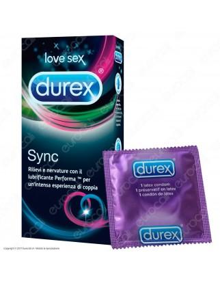 Preservativi Durex Sync - Scatola 6 pezzi
