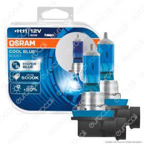 Osram Cool Blue Boost Hyper Blue per Off Road - 2 Lampadine H11