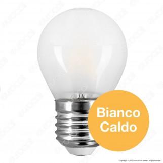 SkyLighting Lampadina LED E27 4W MiniGlobo G45 Frost Filamento