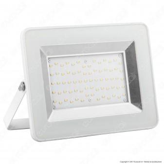 V-Tac VT-4651 I-Series Faretto LED SMD 50W Ultrasottile da Esterno Colore Nero - SKU 5904