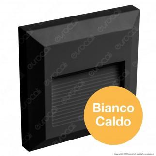 V-Tac VT-1152 Faretto Segnapasso LED a Montaggio Superficiale Quadrato 2W per Esterno Colore Bianco - SKU 1323 / 1322