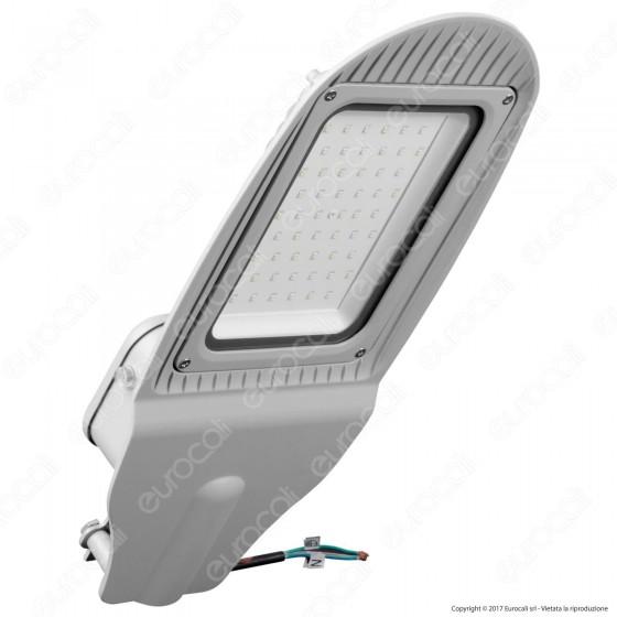 V-Tac VT-15052ST Lampada Stradale LED 50W Lampione SMD con Sensore Crepuscolare - SKU 5493 / 5494