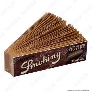 Smoking Brown Filtri In Carta non Sbiancata - Blocchetto Singolo