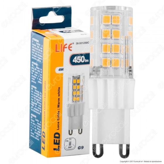 Life Lampadina LED G9 4W Bulb