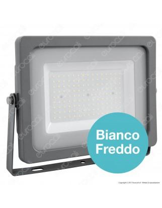 V-Tac VT-49150 Faretto LED SMD Ultrasottile 150W da Esterno Colore Grigio - SKU 5864 / 5865 / 5866