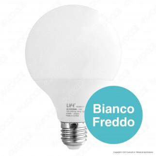 Life Lampadina LED E27 15W Globo G95
