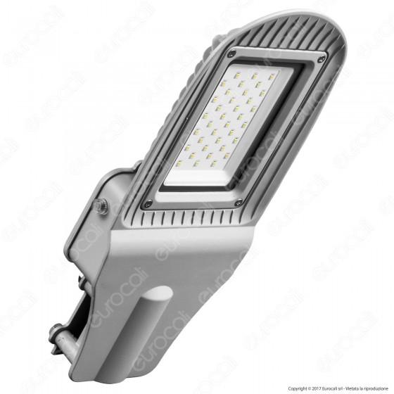 V-Tac VT-15031ST Lampada Stradale LED 30W Lampione SMD con Sensore Crepuscolare - SKU 5489 / 5490