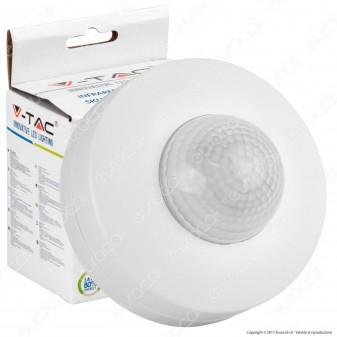 V-Tac VT-8049 Sensore di Movimento a Infrarossi per Lampadine - SKU 1355