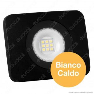 Led Factory Italia Faro LED 10W Ultra Sottile Colore Nero