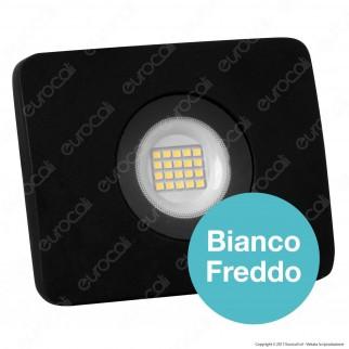 Led Factory Italia Faro LED 20W Ultra Sottile Colore Nero