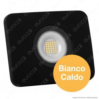 Led Factory Italia Faro LED 30W Ultra Sottile Colore Nero