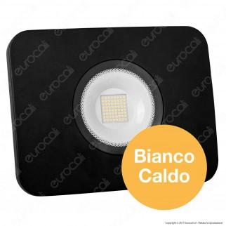 Led Factory Italia Faro LED 70W Ultra Sottile Colore Nero