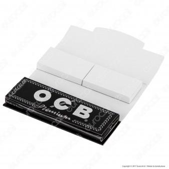 OCB Pack Cartine Corte Nere Premium e Filtri in Carta - Libretto