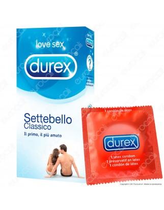 Preservativi Durex Settebello - Scatola 27 pezzi
