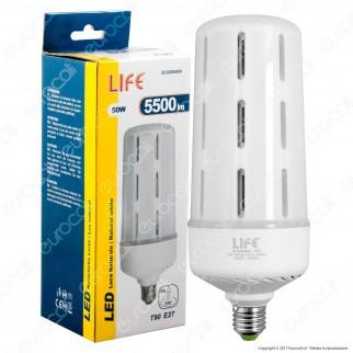 Life Lampadina LED E27 50W Tubolare High Power