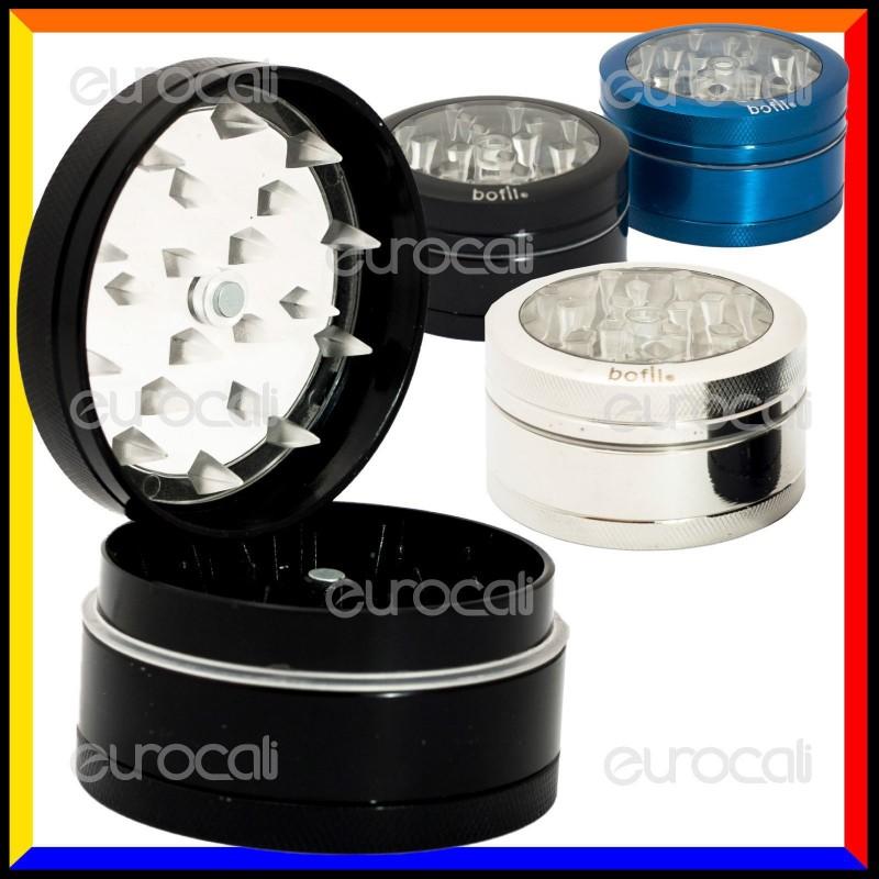Grinder Tritatabacco Bofil 3 Parti in Metallo