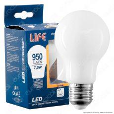 Life Lampadina LED E27 7,5W Bulb A60 White Filamento