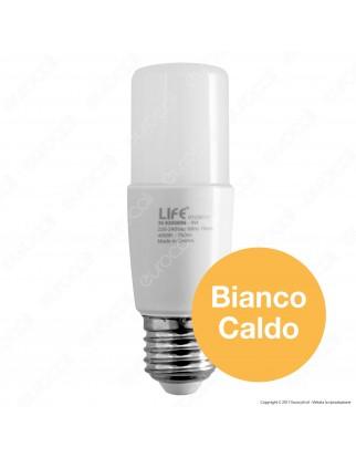 Life Lampadina LED E27 8W Tubolare T38