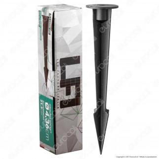 Led Factory Italia Picchetto 21,5cm in Alluminio per Fari 30-50W