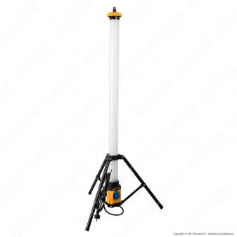 Velamp Stak Tripod Light Luce LED SMD 54W Portatile con Cavo di Alimentazione