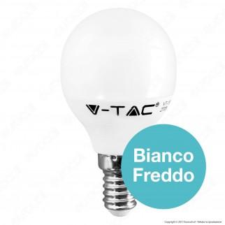 V-Tac VT-1880 Lampadina LED E14 5,5W MiniGlobo P45 - SKU 42501 / 42521