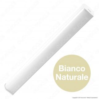 V-Tac VT-7010 Lampada da Specchio Wall Light 10W IP44 Finitura Bianca - SKU 3918 / 3919