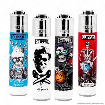 Clipper Micro Fantasia Skulls 5 - 4 Accendini