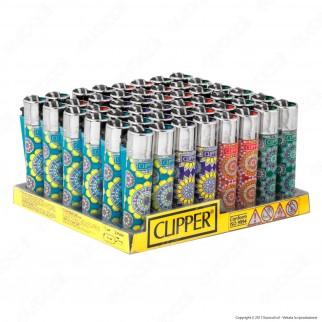 Clipper Large Fantasia Lucy - Box da 48 Accendini