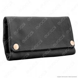 Original Kavatza Tobacco Wallet Classic TWL01 Portatabacco Portafoglio in Vera Pelle