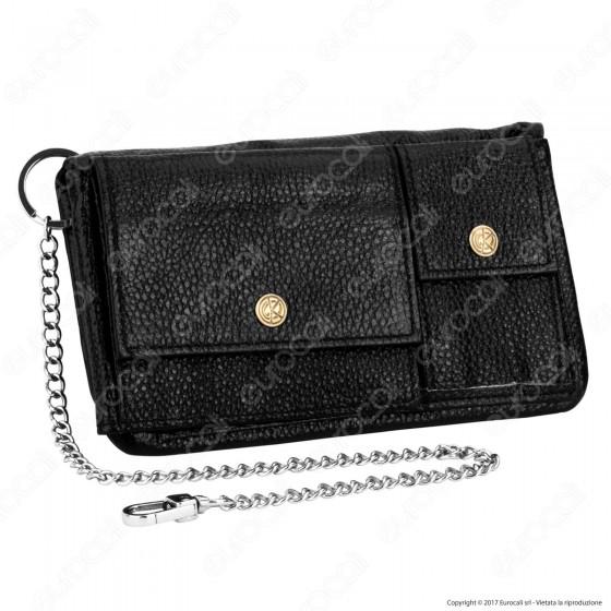 Original Kavatza Tobacco Wallet Classic Small TWS01 Portatabacco Portafoglio in Vera Pelle