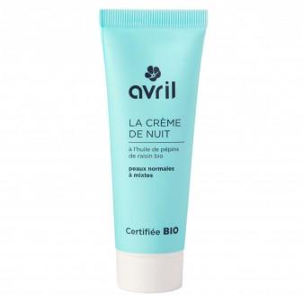 Avril Crema Notte Pelli Normali e Miste - Flacone da 50ml