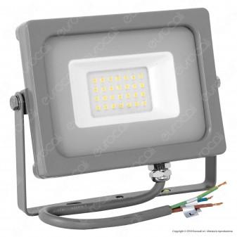 V-Tac VT-4922 Faretto LED SMD 20W Ultra Sottile da Esterno Colore Grigio - SKU 5798 / 5800