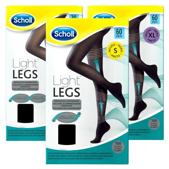 Scholl Collant Light Legs - Nero 60 Denari