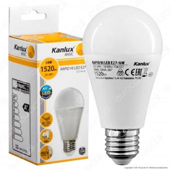 Kanlux RAPID Lampadina LED E27 15W Bulb A60