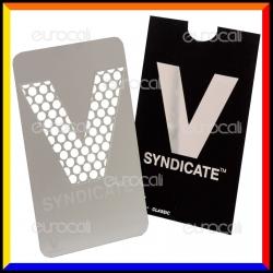 Grinder Card Formato Tessera Tritatabacco in Metallo - V Syndicate