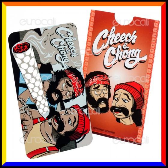 Grinder Card Formato Tessera Tritatabacco in Metallo - Cheech & Chong