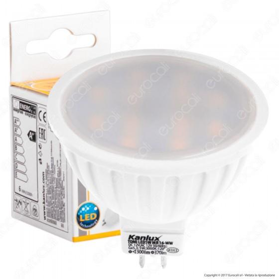 Kanlux TOMI Lampadina LED GX5,3 (MR16) 5W Faretto Spotlight