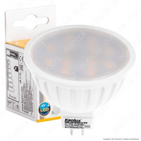 Kanlux TOMI Lampadina LED GX5,3 (MR16) 5W Faretto Spotlight - mod.22704 / 22705