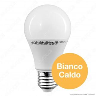 Led Factory Italia Lampadina LED E27 9W Bulb A60 Dimmerabile su 3 Step