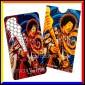 Grinder Card Formato Tessera Tritatabacco in Metallo - Jimi Hendrix Psychadelic Vibes [TERMINATO]