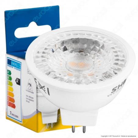 Bot Lighting Lampadina LED GU5.3 (MR16) 6,3W Faretto Spotlight 60° - mod. SLD650742B / SLD650743B / SLD650741B