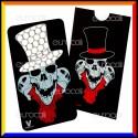 Grinder Card Formato Tessera Tritatabacco in Metallo - Teschio [TERMINATO]