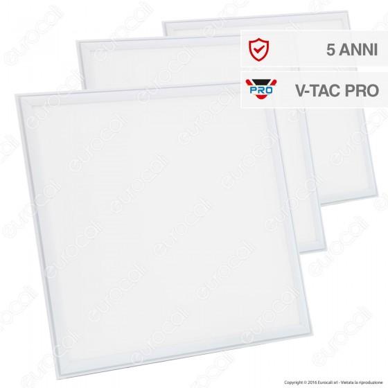 V-Tac VT-6165 6 Pannelli LED 60x60 45W SMD con Driver - SKU 6419 / 6420 / 6421