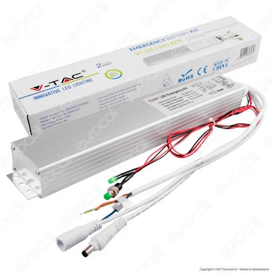 V-Tac Kit di Emergenza per Pannelli da 6W a 24W - SKU 8275