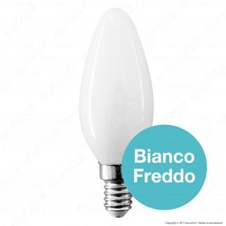 V-Tac VT-1924 Lampadina LED E14 4W Candela Cross Filament White - SKU 71031