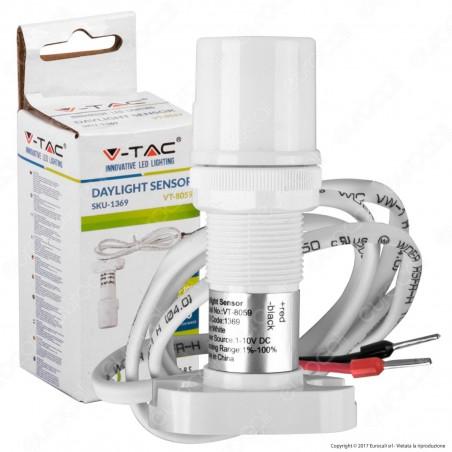 V-Tac VT-8059 Sensore di Luce Ambientale Daylight 0-10V - SKU 1369
