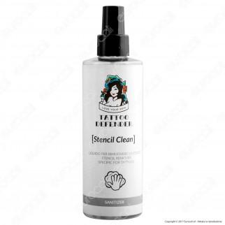Tattoo Defender Stencil Clean Liquido per Rimuovere lo Stencil - Flacone da 200ml