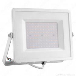 V-Tac VT-49101 Faretto LED SMD 100W Ultrasottile da Esterno Colore Bianco - SKU 5970 / 5971 / 5972