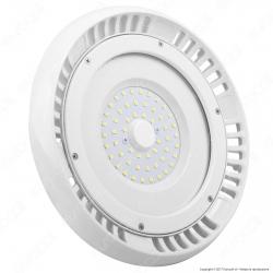 V-Tac VT-9065 Lampada Industriale LED Ufo Shape 50W SMD 120° High Bay Colore Bianco - SKU 5609 / 5610 / 5611