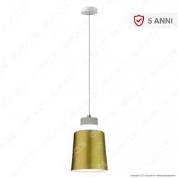 V-TAC VT-7333 Lampadario LED 7W Campana Color Oro - SKU 3934 / 3928
